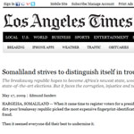 L.A. Times article about Somaliland
