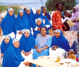 First graduating class of midwives, 2004
