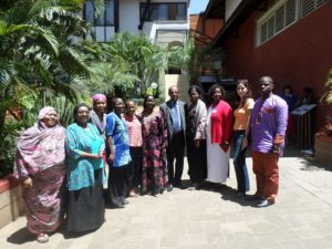 The Girl Generation hosted their 2015 Strategic Advisory Group on FGM. Edna is pleased to be a part of this important gathering. Let's end FGM within a generation!