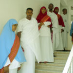Somaliland students in traditional dress