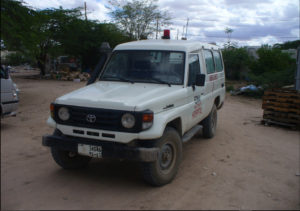Our old and unreliable ambulance