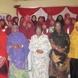 Congratulate 37 Newly Trained Midwives